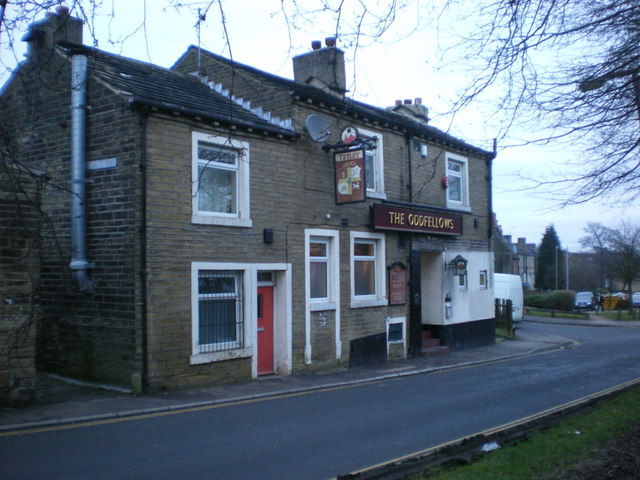 The Oddfellows, Haugh Shaw Road West