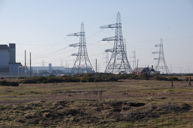 Dungeness Power Station.