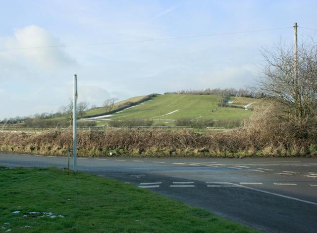 2009 : Looking west at Crossways
