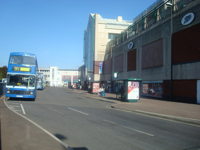 Bus Station and County Mall Shopping Centre Crawley