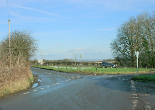 2009 : One of the junctions at Crossways
