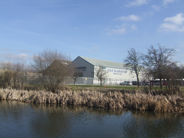 Factory Units beside the Wednesbury Old Canal