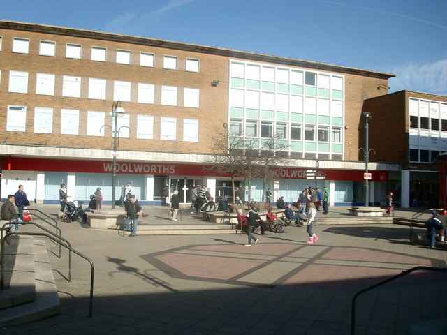 Woolworths, Queens Square, Crawley