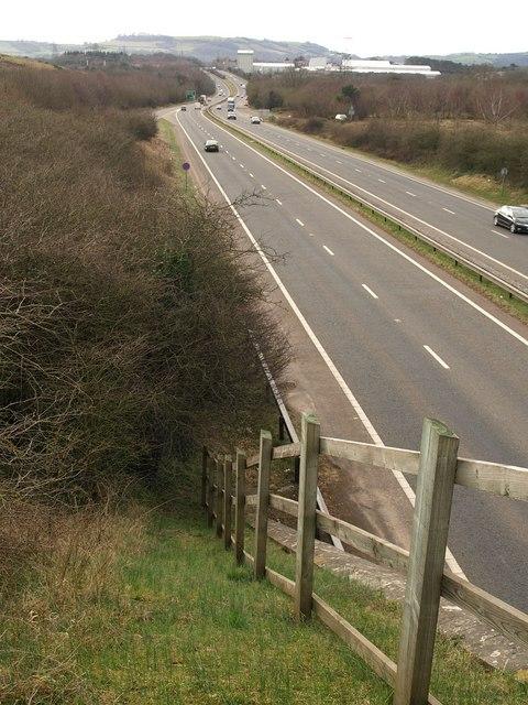 A38 near Chudleigh Knighton