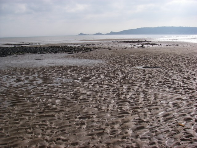 The sands of Swansea Bay