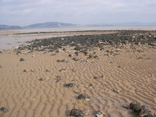 Swansea Bay at half-tide