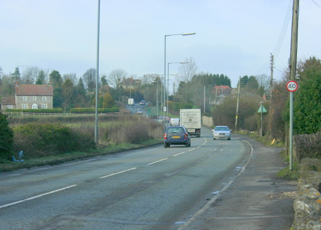 2009 : The A37 at Clutton