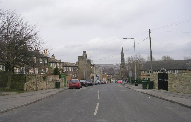 Church Street - viewed from Heaton Road