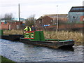 SO9890 : Oldbury - narrow boat near Albion Bridge by Dave Bevis