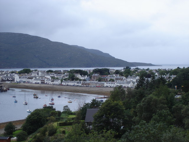 Ullapool - from the A836