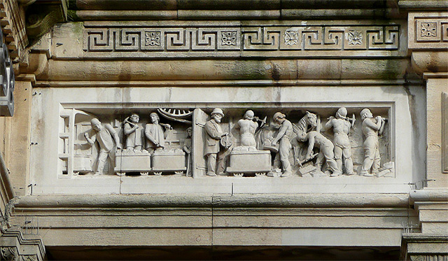 Lloyds Bank in Queen Square (detail 1), Wolverhampton