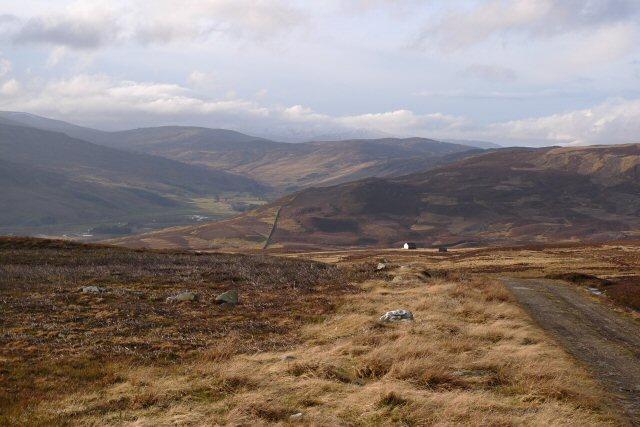 View up Glen Quaich
