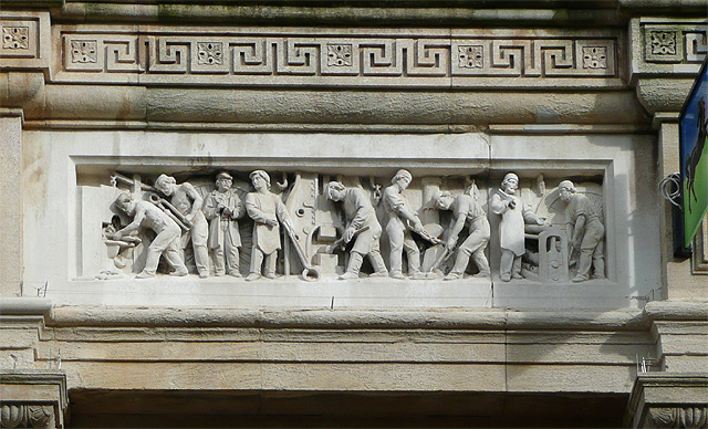 Lloyds Bank in Queen Square (detail 3), Wolverhampton