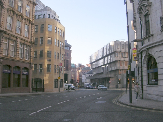 King Street - viewed from Infirmary Street