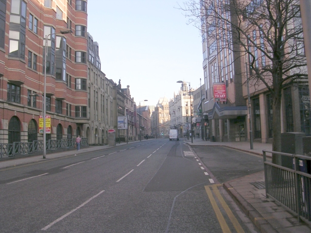 East Parade - viewed from Infirmary Street