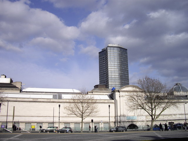 Tate Britain and Millbank Tower
