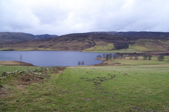 Pasture above Loch Freuchie