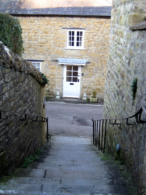 Steps from the Strode Room - Beaminster