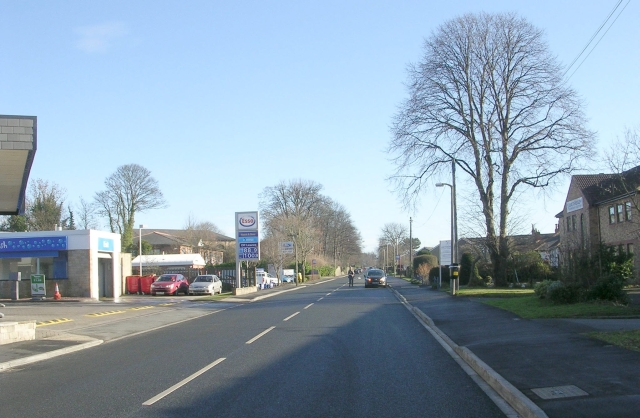 York Road - viewed from Deighton Road