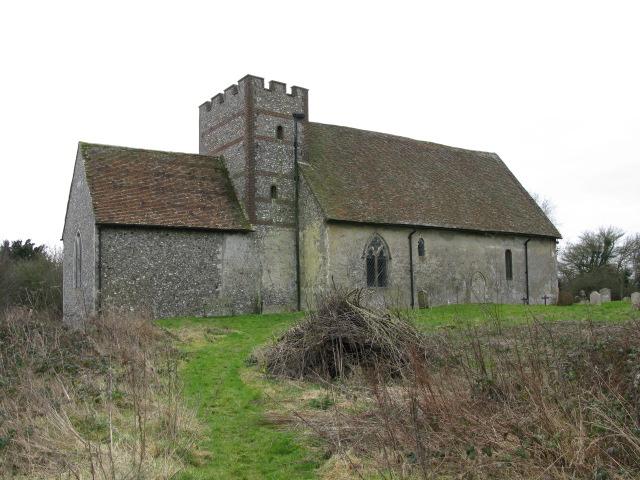 St Bartholomew's church from the NE
