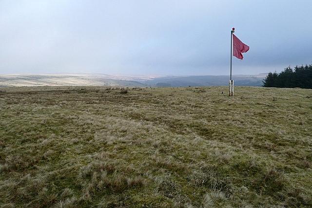 Approach to Mynydd Epynt