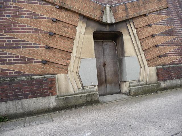 Unusual entrance design