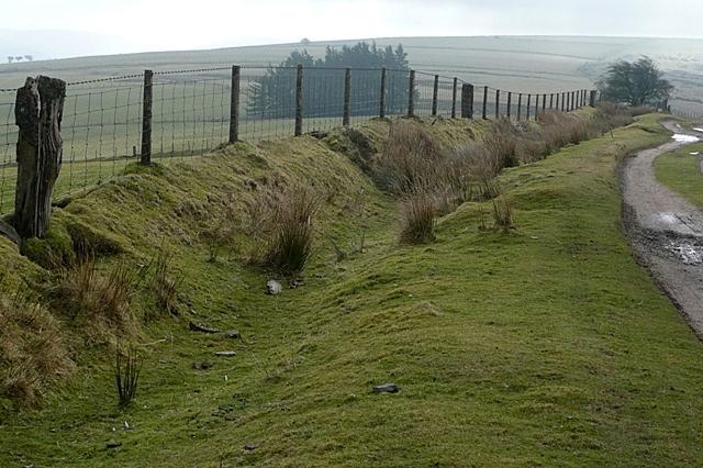 Access land above Nant Bran