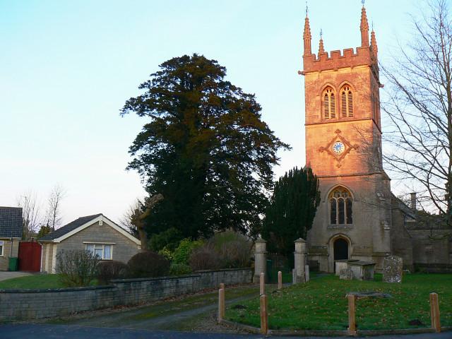 The church in Hilmarton