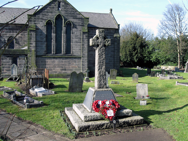 The War Memorial, St Mary's, Red Lake, Ketley