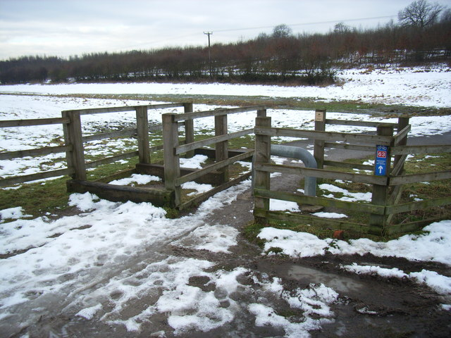 Cycle access at Ratby Burroughs