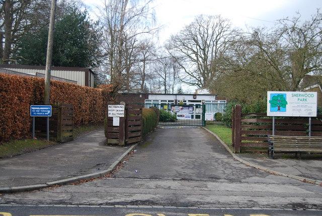 Sherwood Park School, Greggs Wood Rd