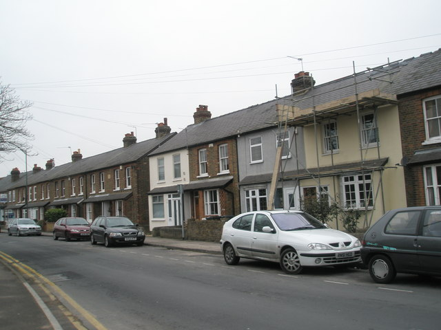Terraced housing in St Luke's Road