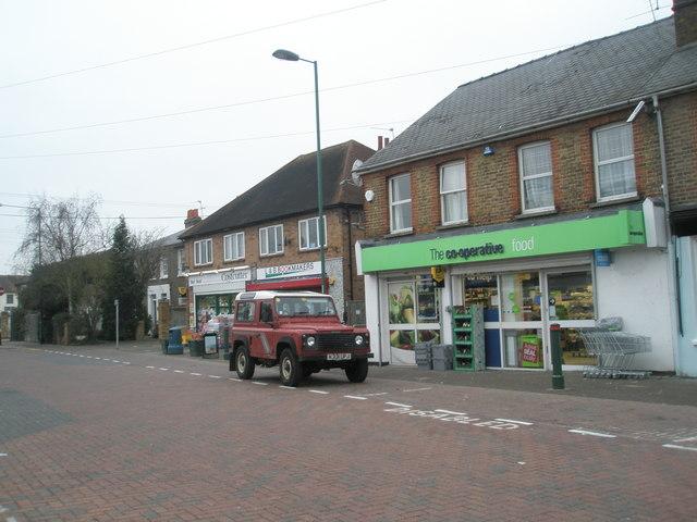 The Co-op in St Luke's Road