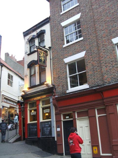 The Golden Lion Pub, Whitby