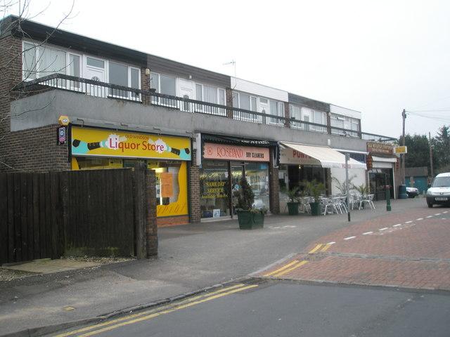 Shops in St Luke's Road