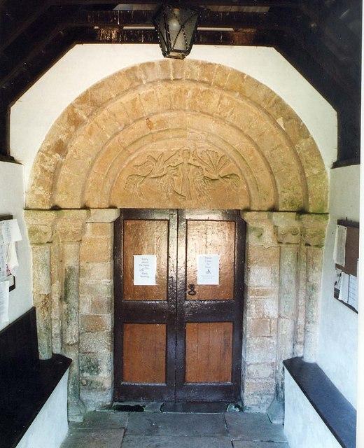 St Michael, Shalfleet - Doorway