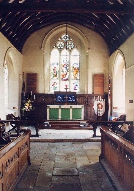 St Michael, Shalfleet - Chancel