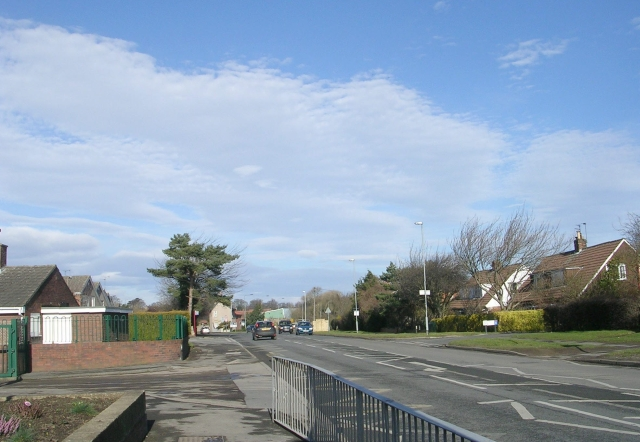 Deighton Road - viewed from Aire Road