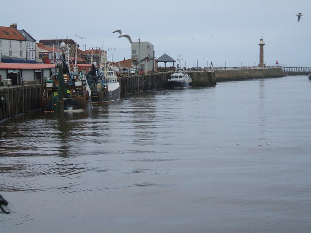 Fishing Boats, Whitby Harbour