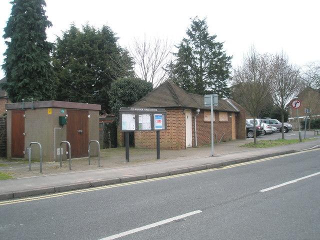 Closed public conveniences in St Luke's Road