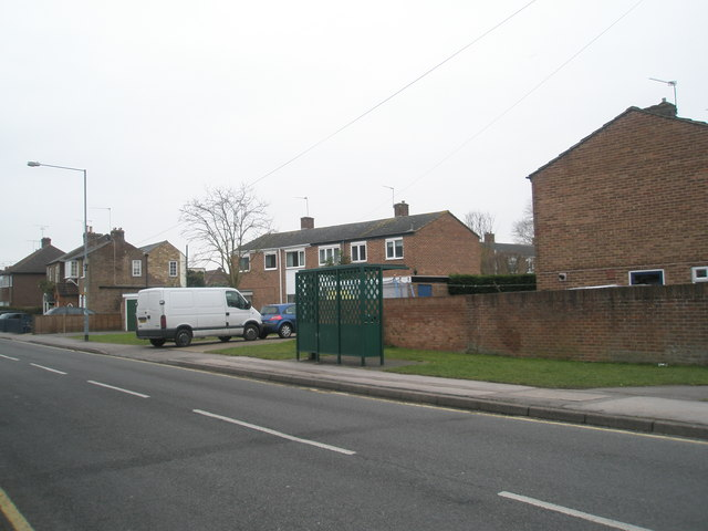 Bus shelter in St Luke's Road