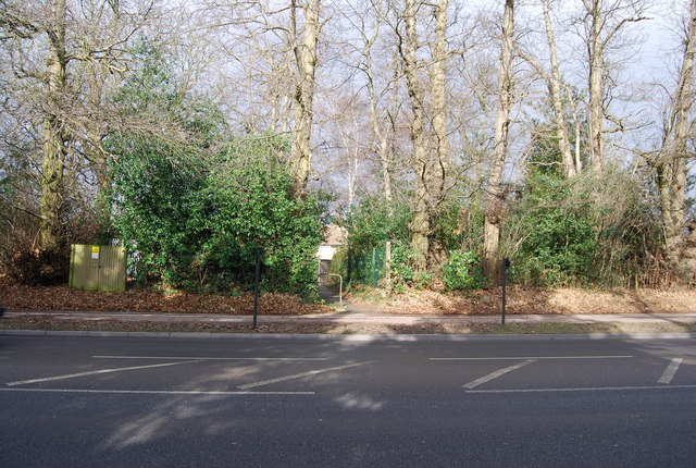 Footpath off Pembury Rd to Squirrel Way
