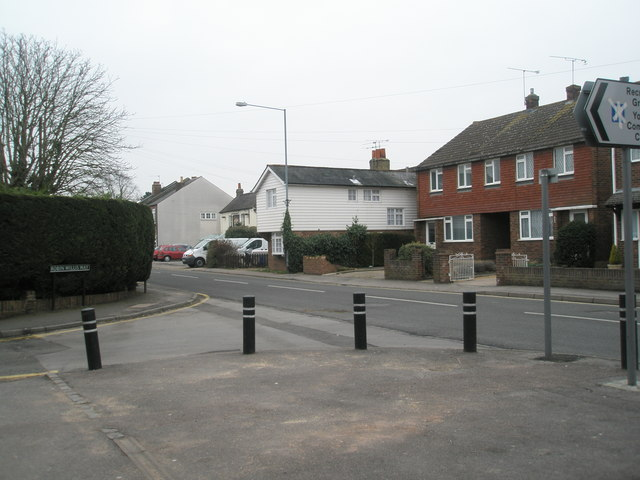 Junction of St Luke's Road and Robin Willis Way