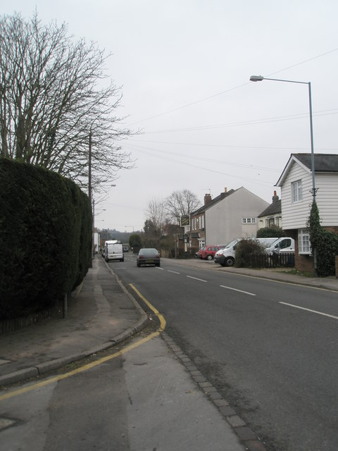 Looking from Robin Willis Way  towards The Jolly Gardeners