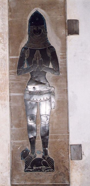 St Mary, Calbourne - Brass