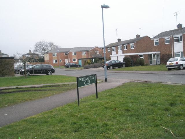 Houses in William Ellis Close
