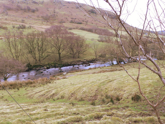 River Conwy south west of Ysbyty Ifan