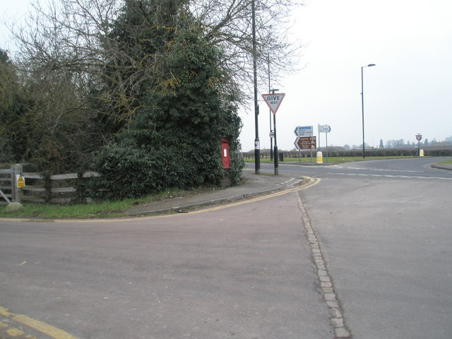 Junction of Clayhall Lane, Albany Road and the A308