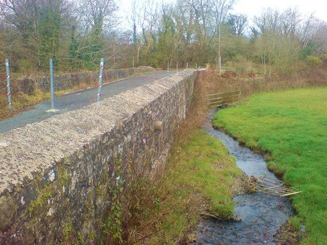 The old bridge at Longford, Llanddewi Veffrey parish