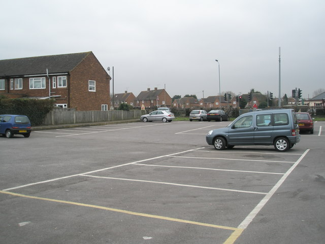 Car  park for the Memorial Hall, Public Library, Day Centre and Police Station at Old Windsor